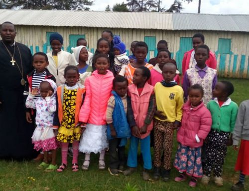 Pupils at St Irene Mission