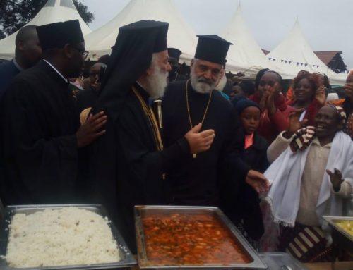 Patriarhul Alexandriei și al Întregii Africi s-a aflat duminică în Kenya: Toiag Arhieresc îndreptat spre cer